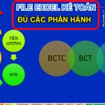 File Excel Kế Toán Đủ Các Phần Hành Rất Hay