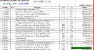 Tải File Excel Kế Toán Nhập Liệu Mới Nhất