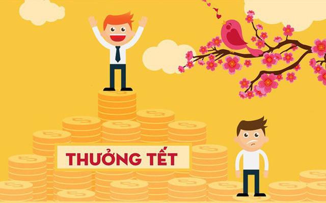 Tính thuế TNCN tiền thường Tết